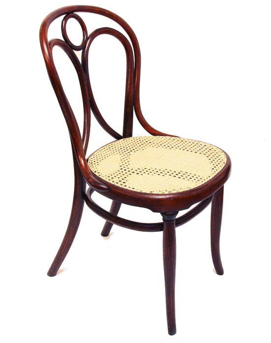 Židle Thonet po restaurování