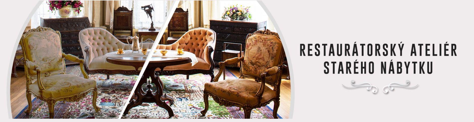 Restaurování nábytku - restaurátorský atelier